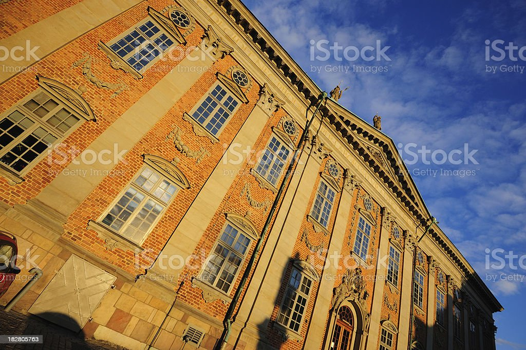 """""""Swedish House of Nobility"""" Riddarhuset in Old Town, Stockholm, Sweden stock photo"""