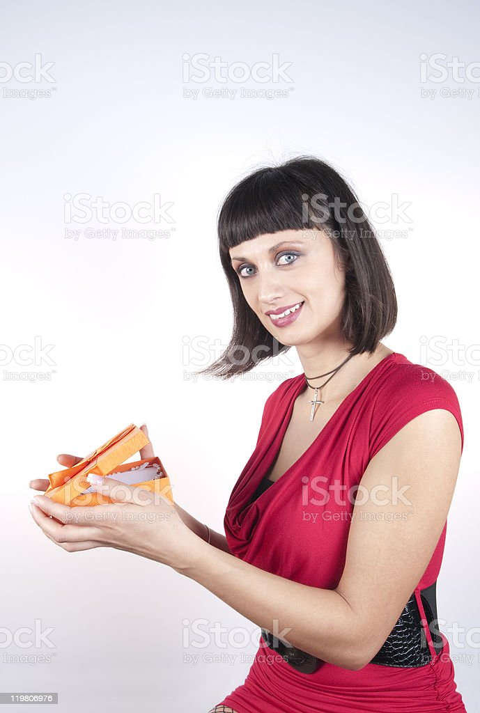 """""""Thank You Darling!"""" royalty-free stock photo"""