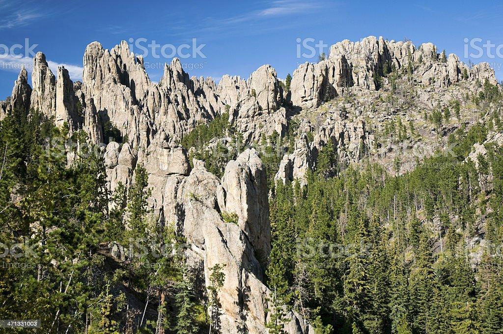 """The Needles"" in Custer State Park, South Dakota stock photo"