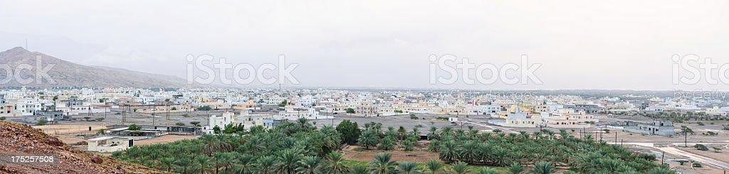 Quriyat panorama royalty-free stock photo