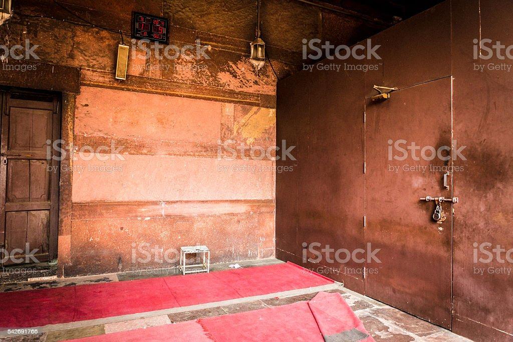 Qutab Minar Indo-Islamic architecture stock photo