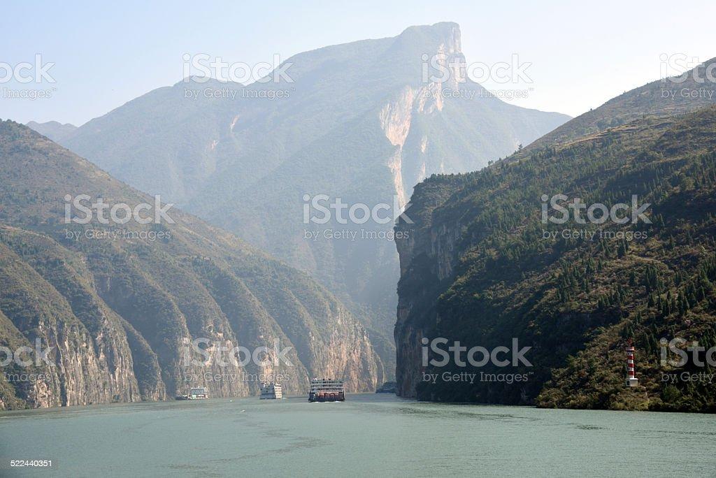 Qutang Gorge stock photo