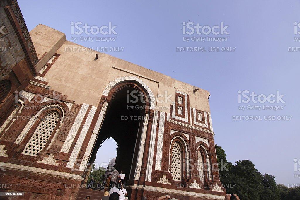 Qutb Minar in Delhi, India royalty-free stock photo