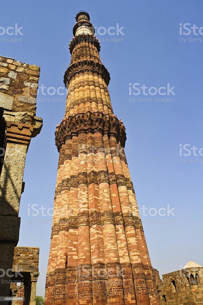 Qutb Minar royalty-free stock photo