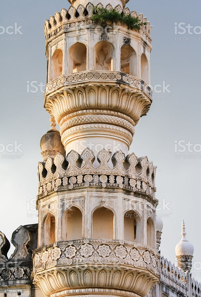 Qutb Shahi Tombs in Hyderabad, India stock photo
