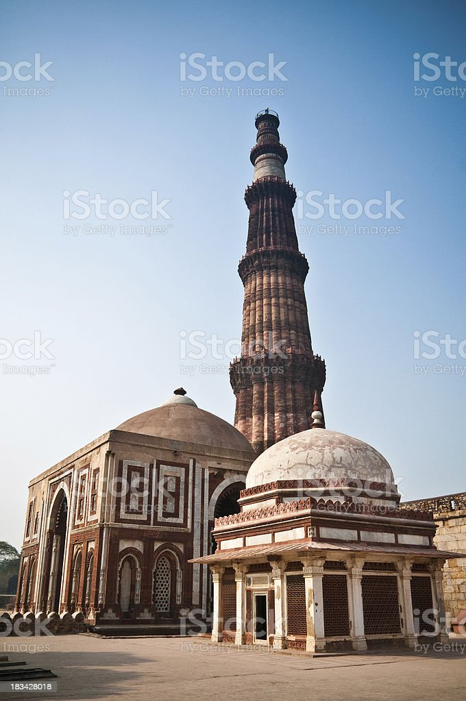 Qutub Minar royalty-free stock photo
