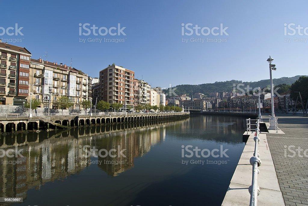 R?a de Bilbao stock photo