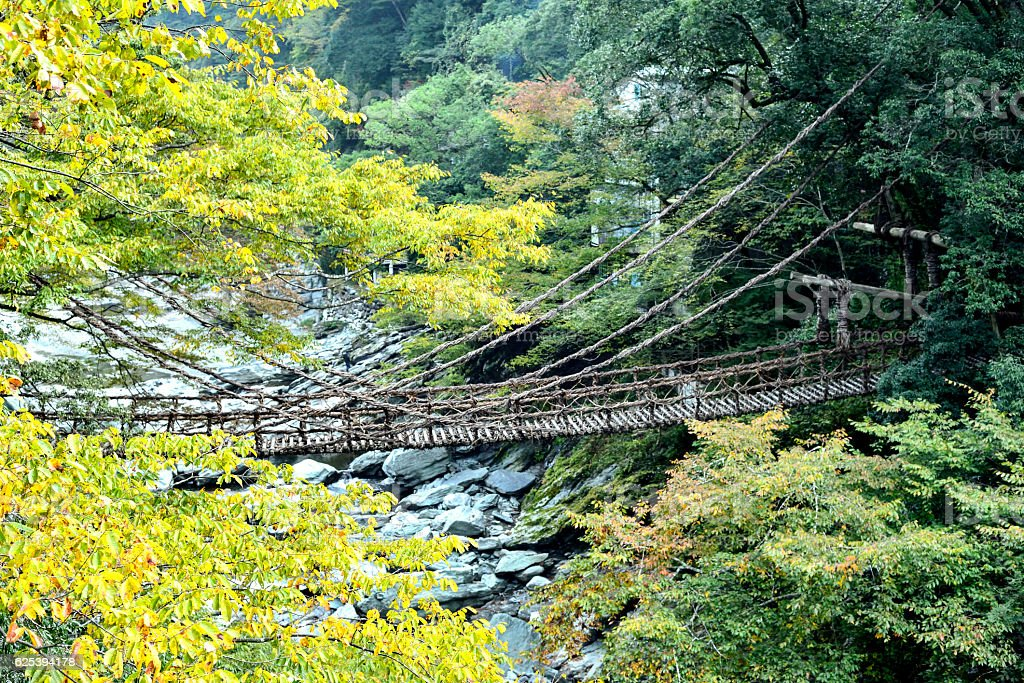 Ra ka zu Bridge stock photo