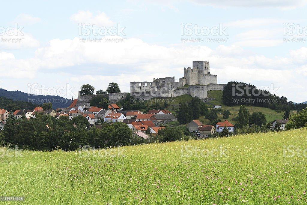 Rabí castle royalty-free stock photo
