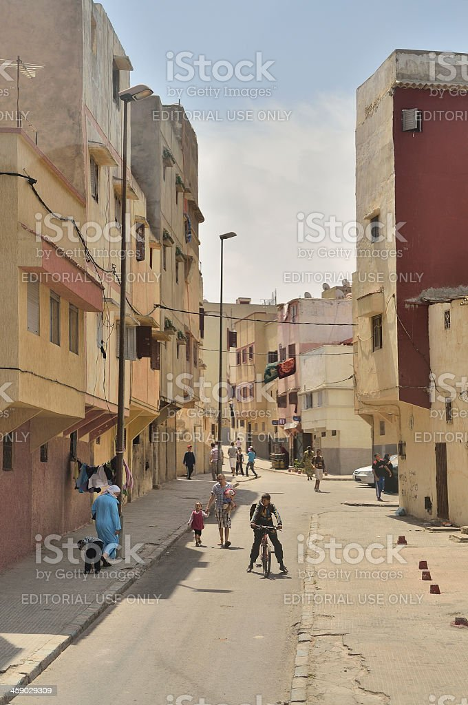 Rabat Street Scene stock photo