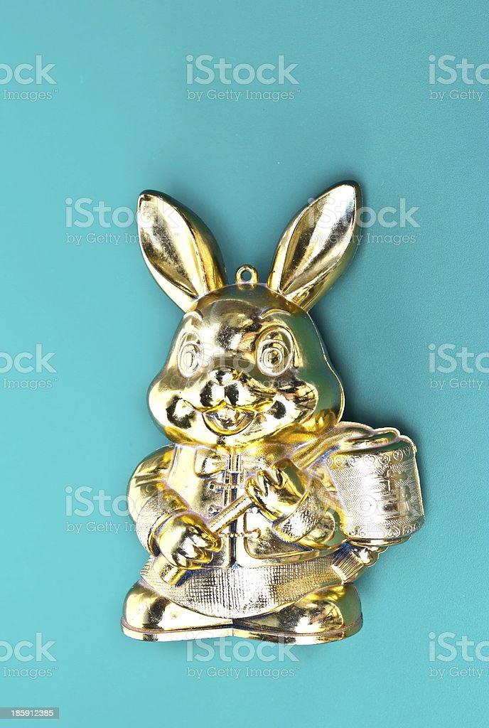 Rabbit toy royalty-free stock photo