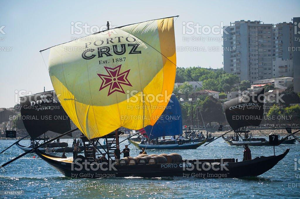 Rabelo Boats royalty-free stock photo