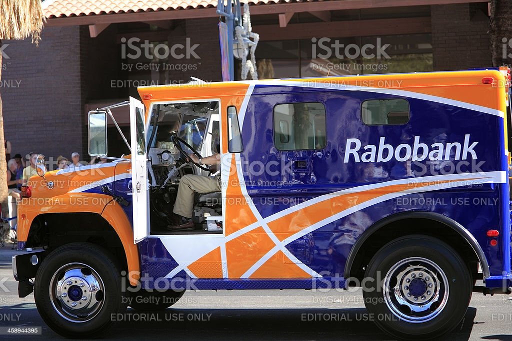 Rabobank In The Americas royalty-free stock photo