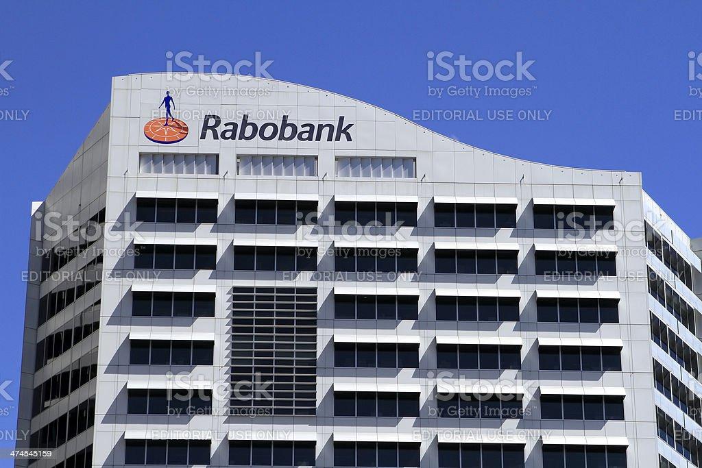 Rabobank Sydney stock photo