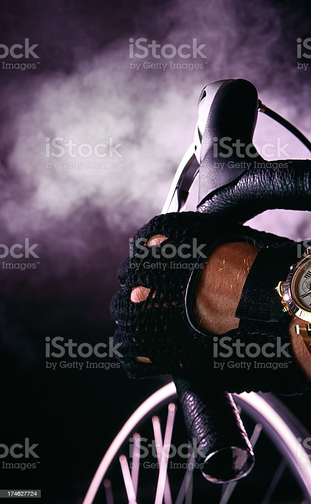 Race against time stock photo