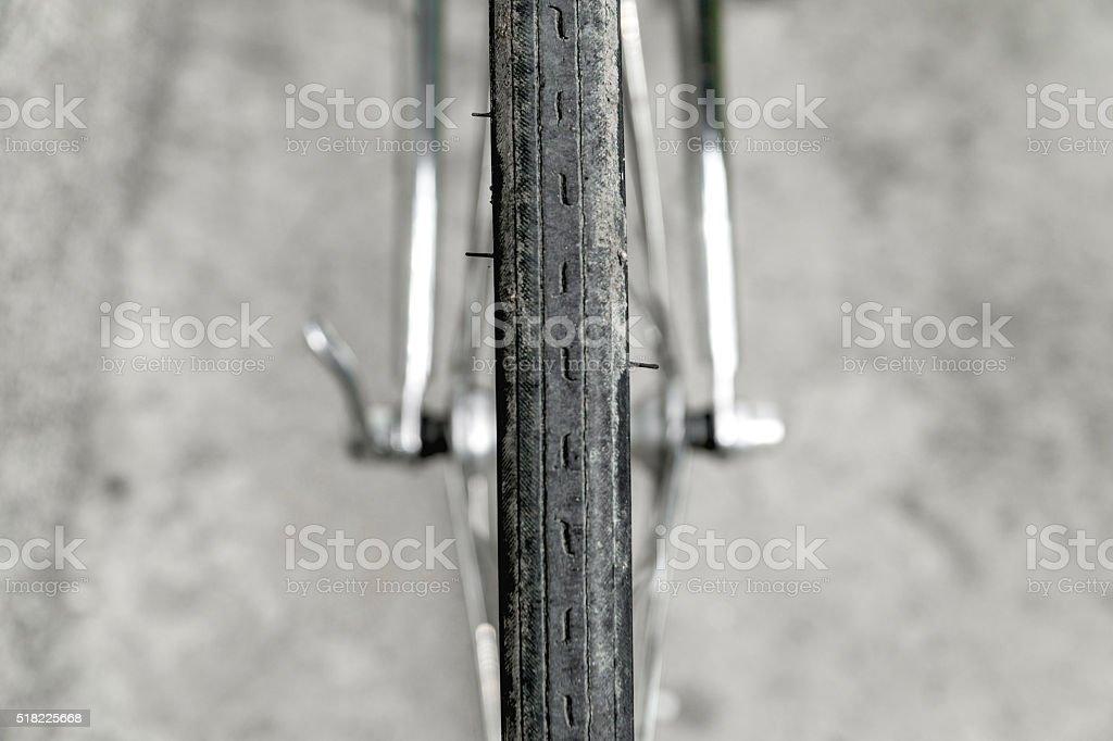 Race bike stock photo