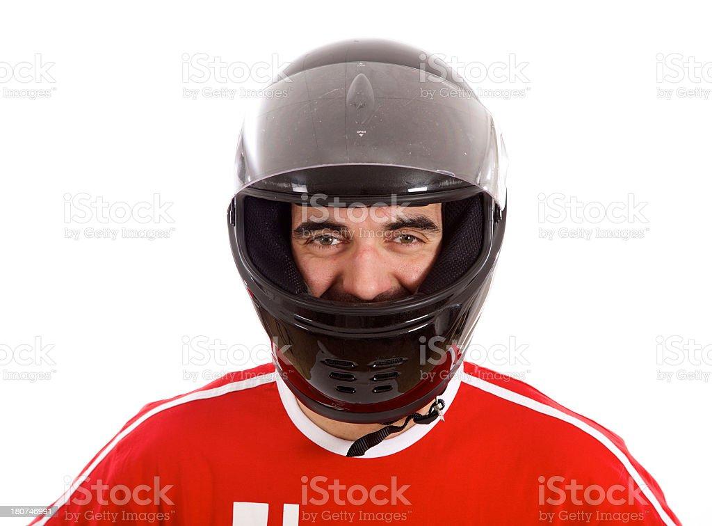 Race Car Driver stock photo