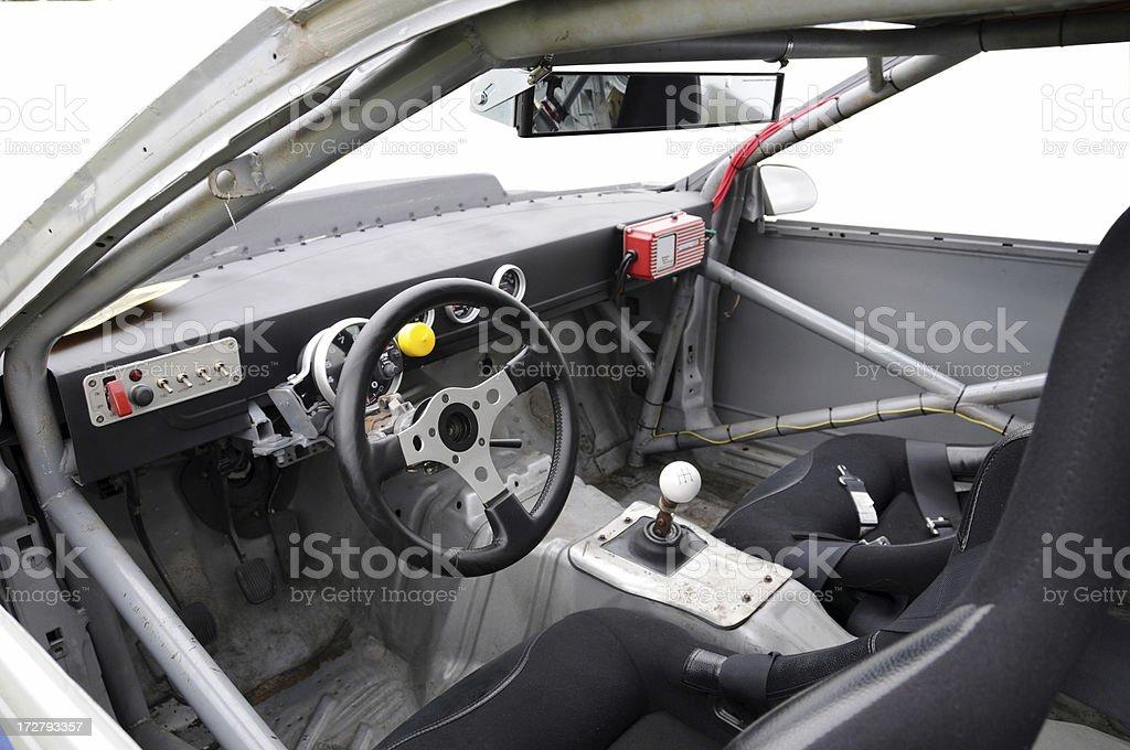 Race Car Interior stock photo