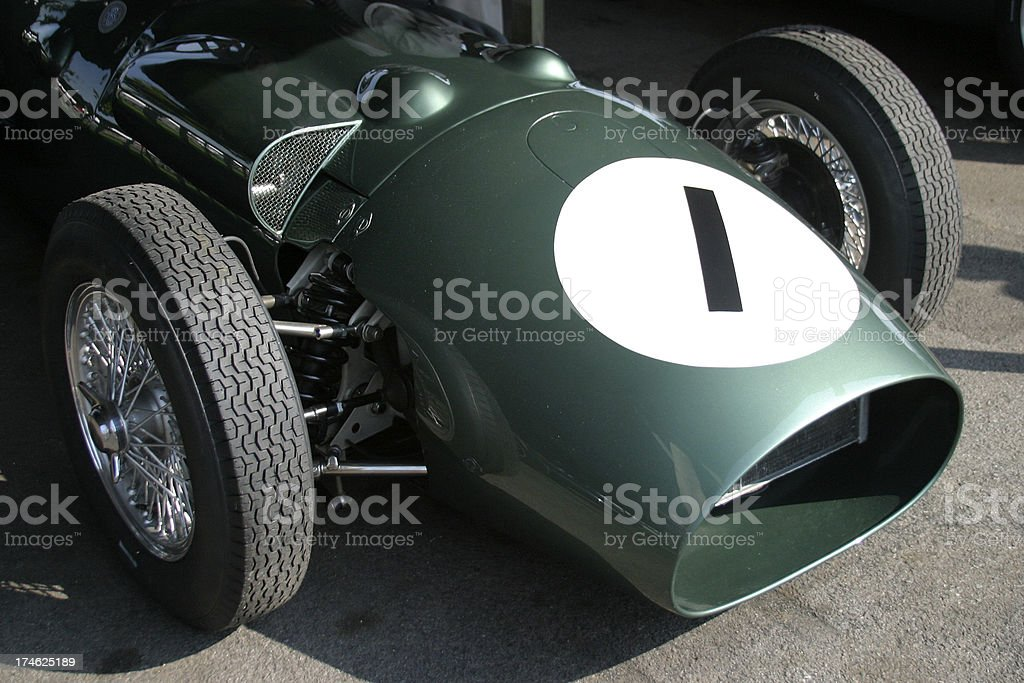 Race Car Number 1 royalty-free stock photo