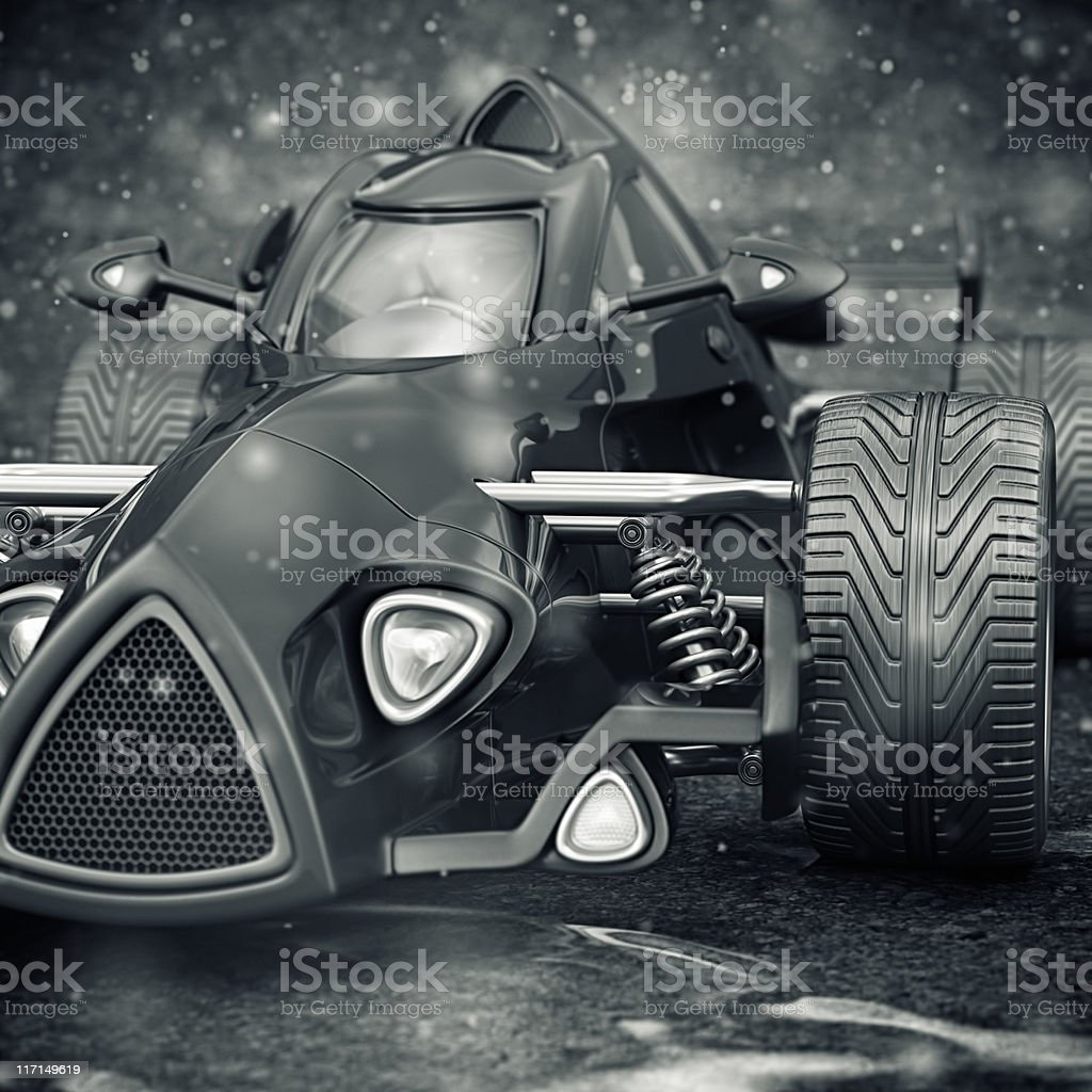 race car royalty-free stock photo