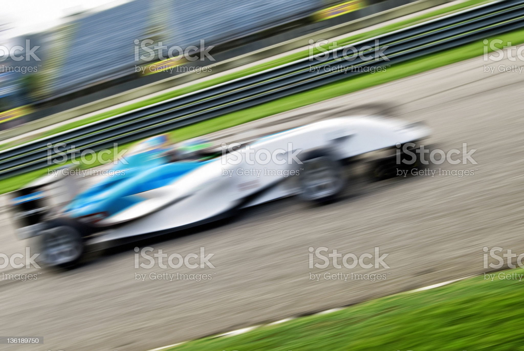 Race car royalty-free stock photo