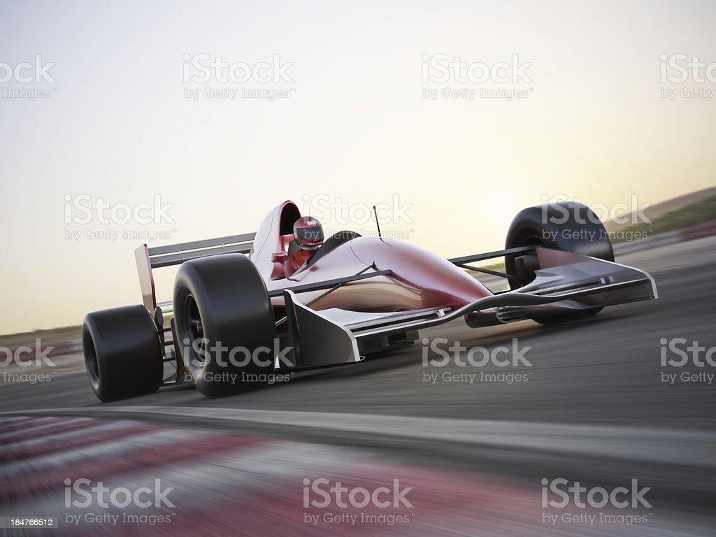 Race car stock photo