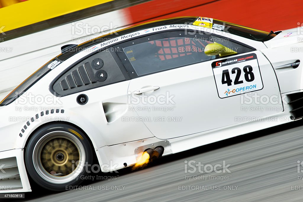 BMW M3 race car royalty-free stock photo