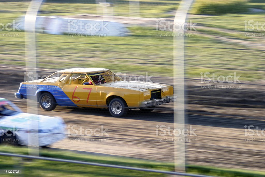 Race Cars royalty-free stock photo