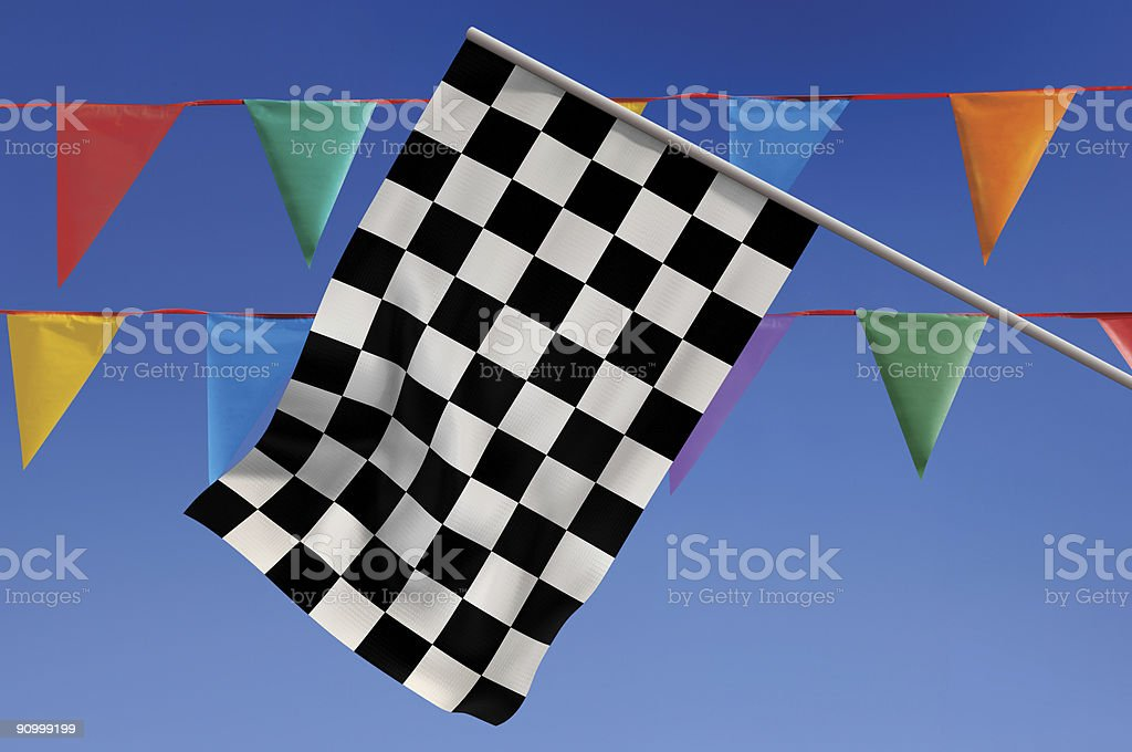 Race Day stock photo