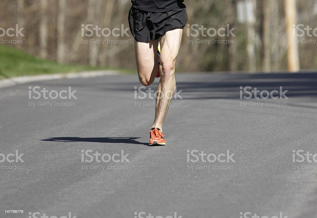 Race Leader royalty-free stock photo