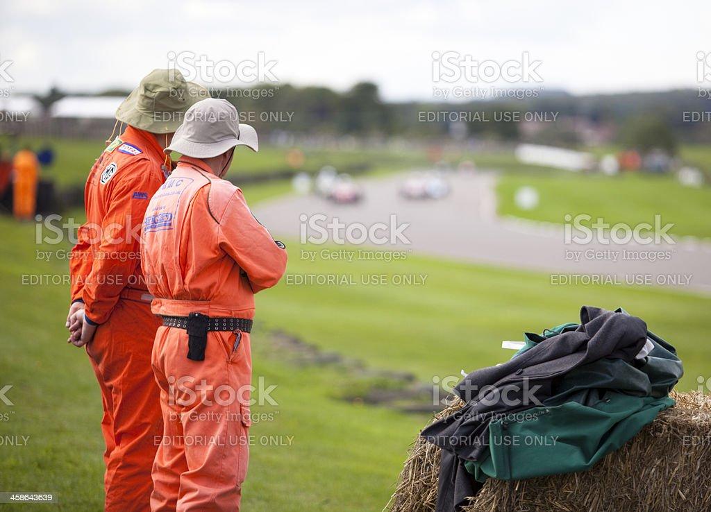 Race Marshals stock photo