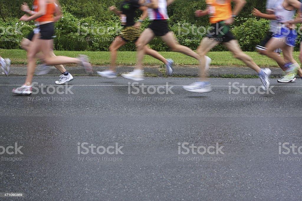 5K-10K Race Start royalty-free stock photo