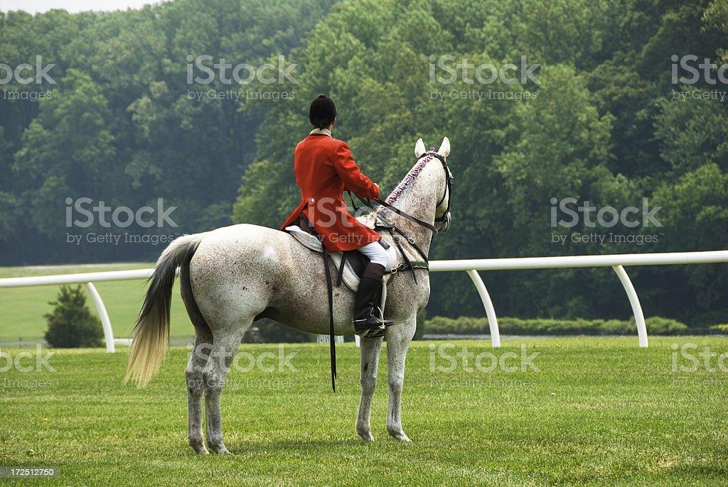 Race Steward royalty-free stock photo