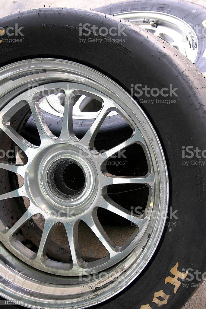 Race Tire stock photo