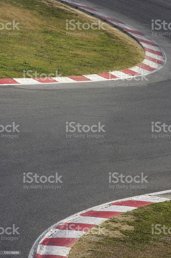 Race track Background stock photo