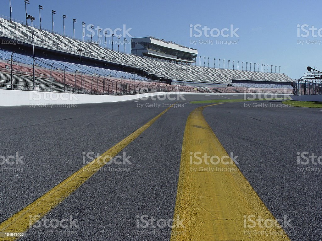 Race Track royalty-free stock photo
