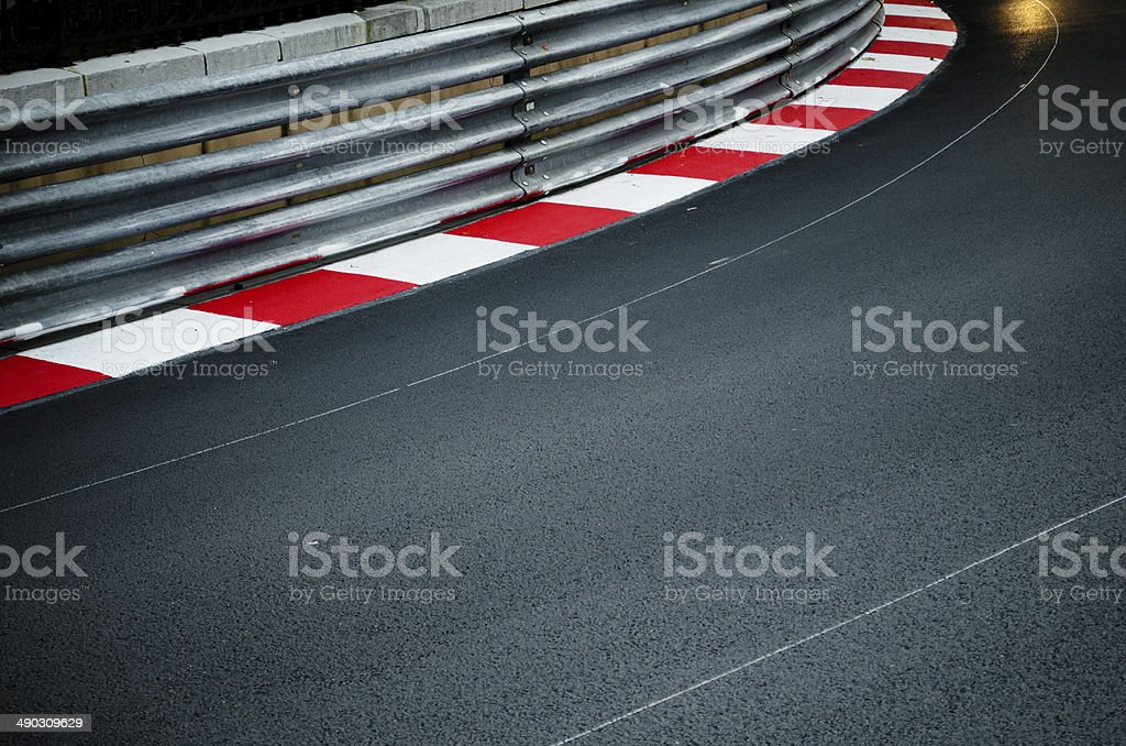 Race Track stock photo