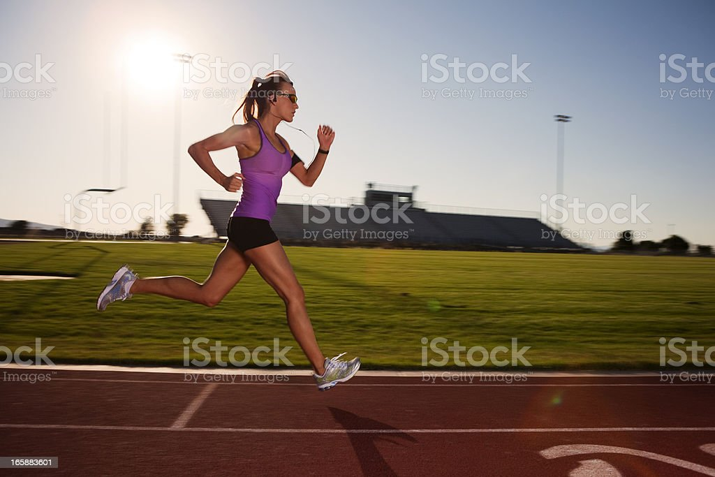 Race Training stock photo