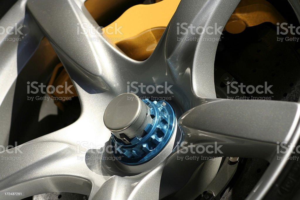 Race Wheel stock photo