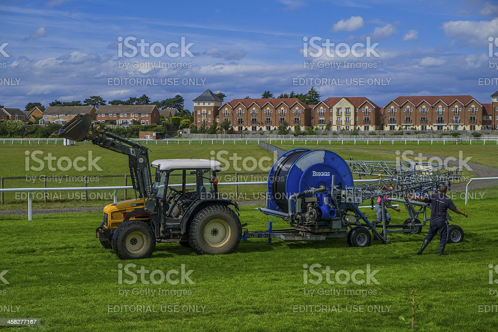 racecourse royalty-free stock photo