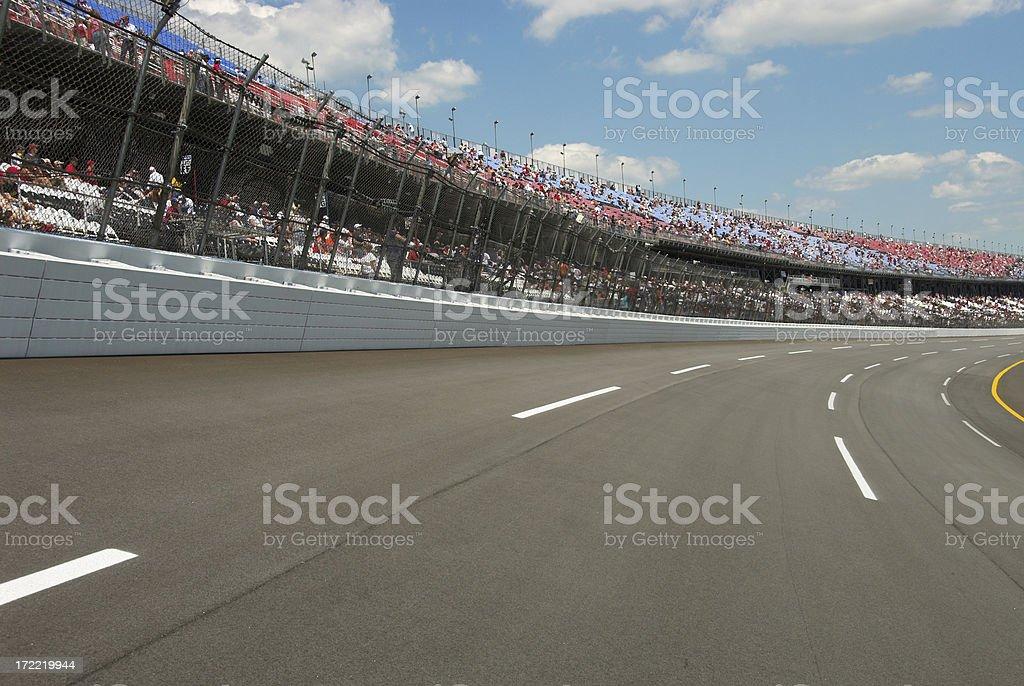 RaceDay royalty-free stock photo