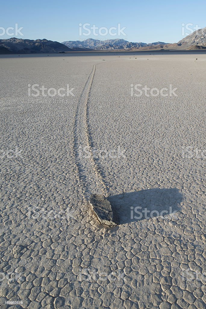Racetrack, Death Valley stock photo