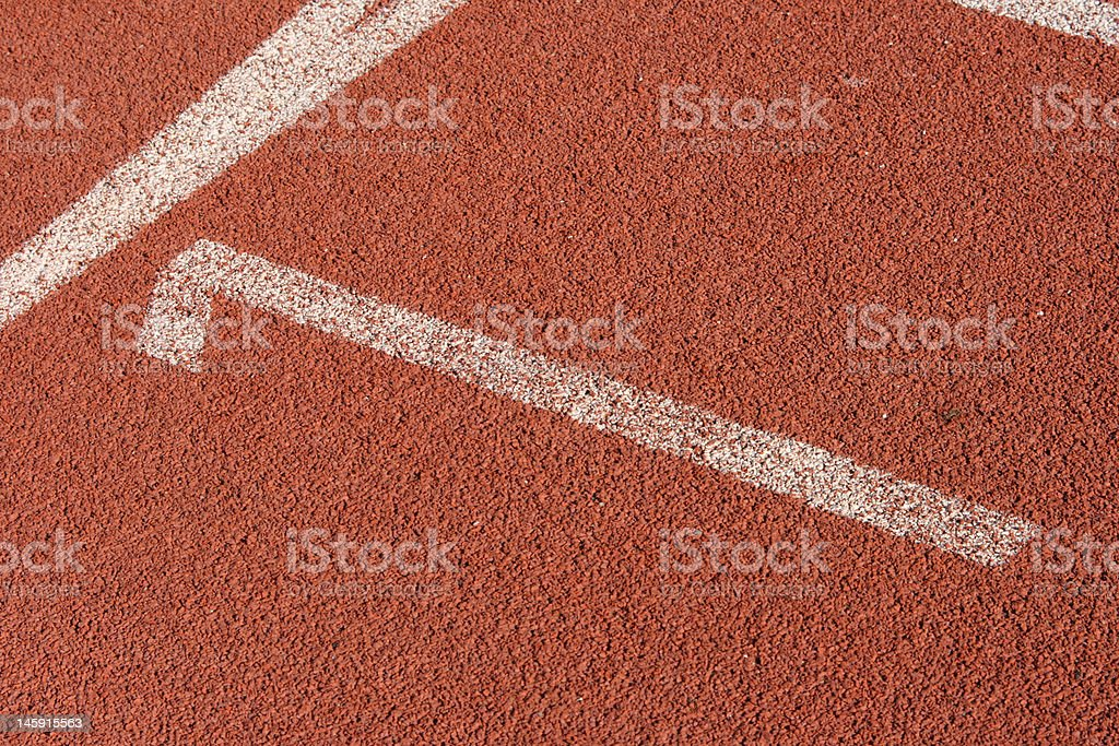 racetrack lane one royalty-free stock photo