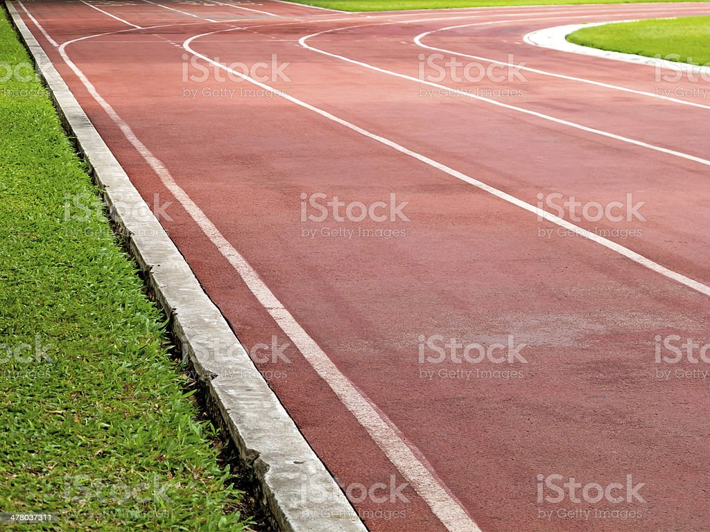 racetrack royalty-free stock photo