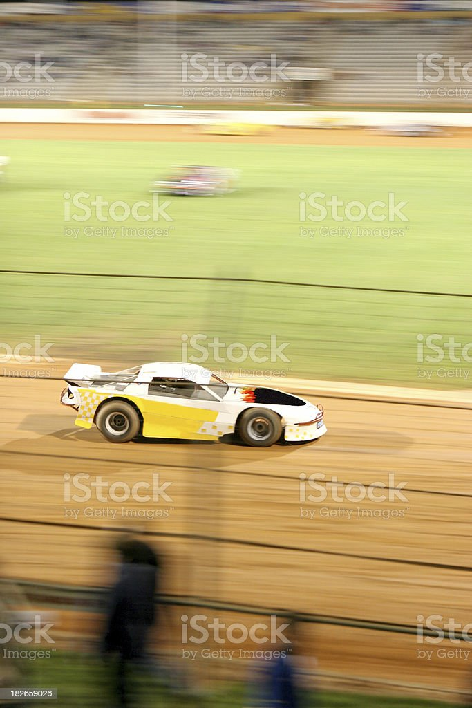 Raceway royalty-free stock photo