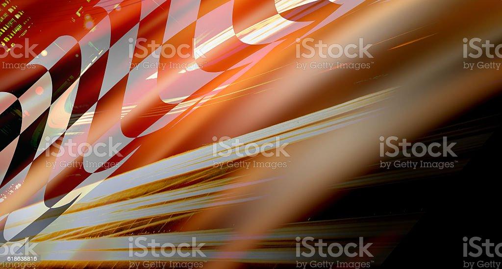 racing background stock photo