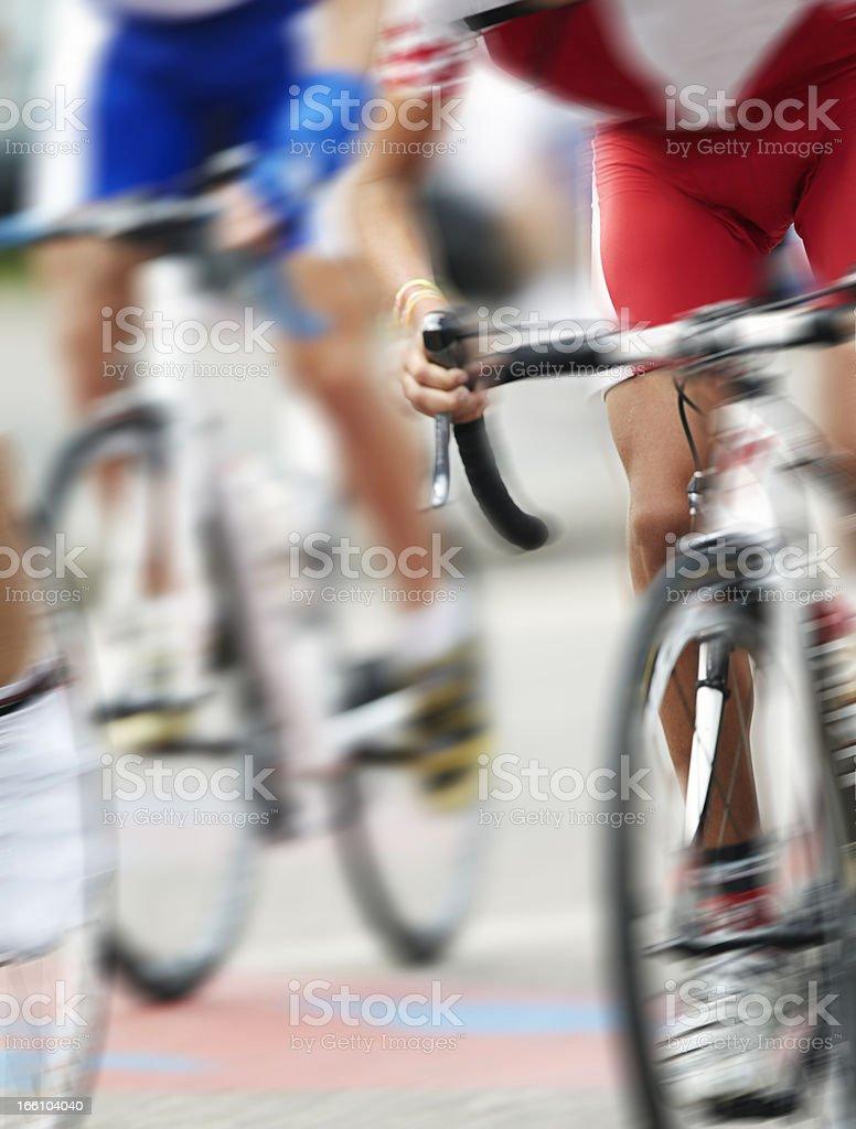 Racing Bike. Color Image royalty-free stock photo