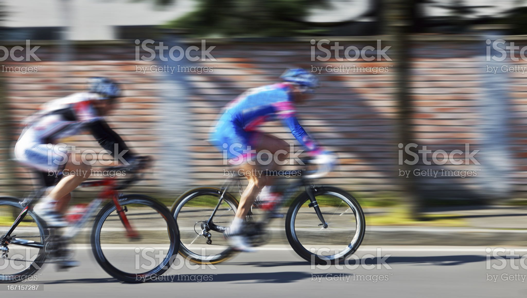 Racing Bike. Color Image royalty-free stock photo