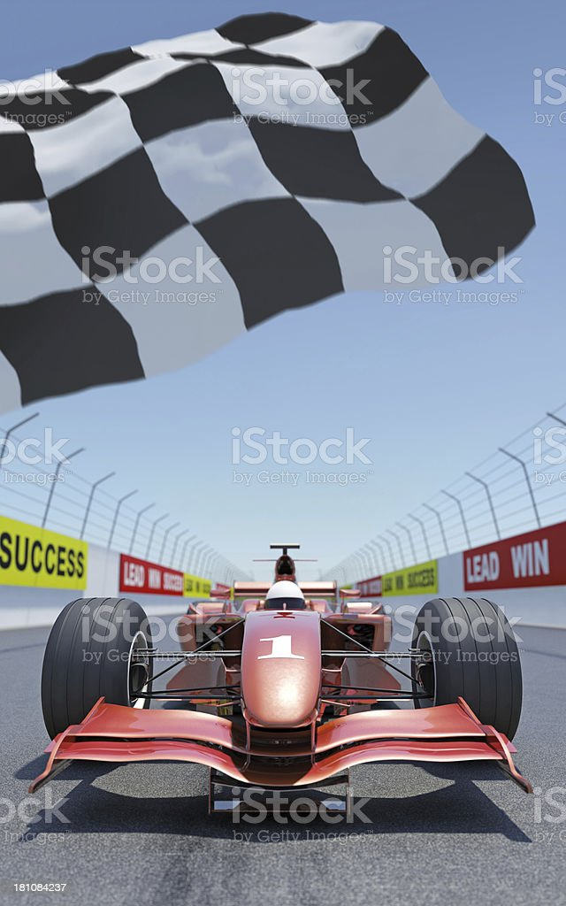 Racing Car royalty-free stock photo