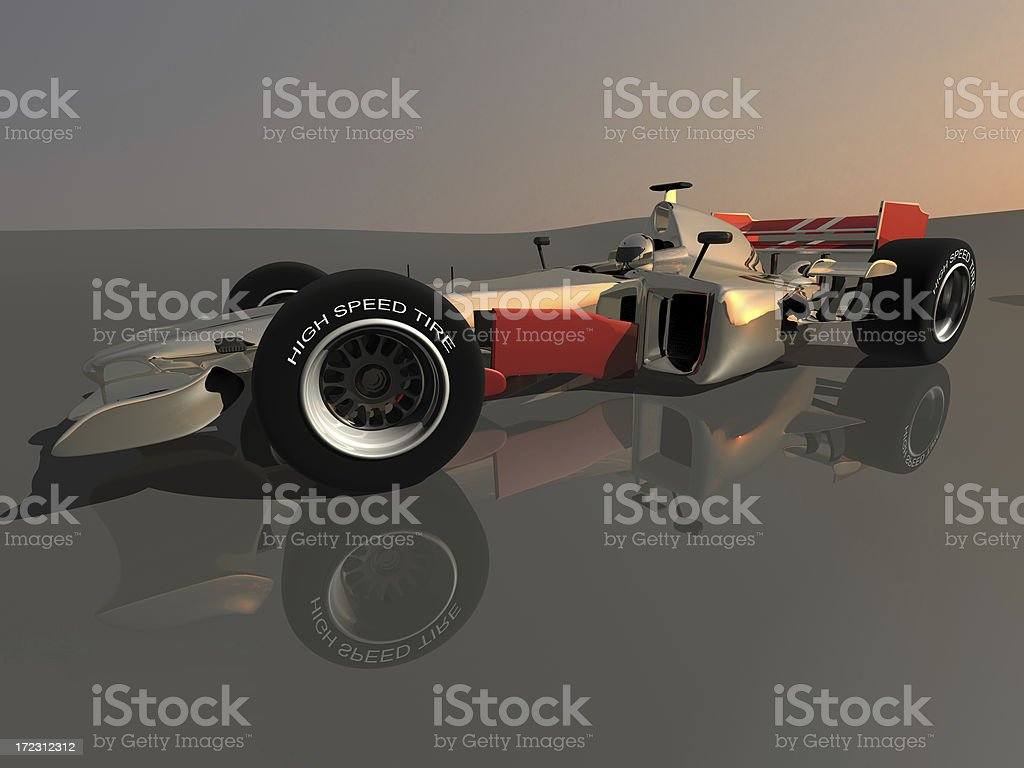 racing car portrait royalty-free stock photo